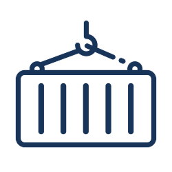 Baulogistik Icon Container